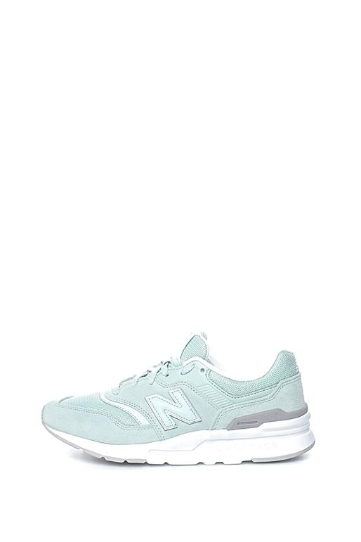 a5525535295 Γυναικεία sneakers NEW BALANCE λαχανί-λευκά (1735783) | Collective ...