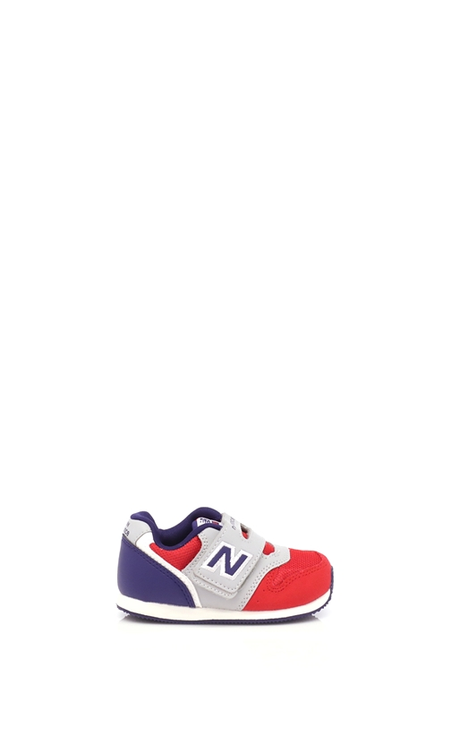 NEW BALANCE-Βρεφικά παπούτσια NEW BALANCE μπλε-κόκκινα