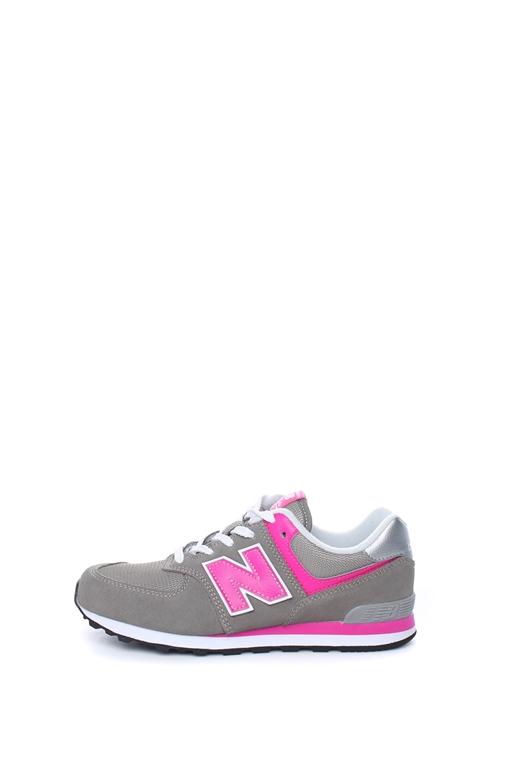 207eb69b9d NEW BALANCE-Γυναικεία sneakers NEW BALANCE 574 γκρι-ροζ