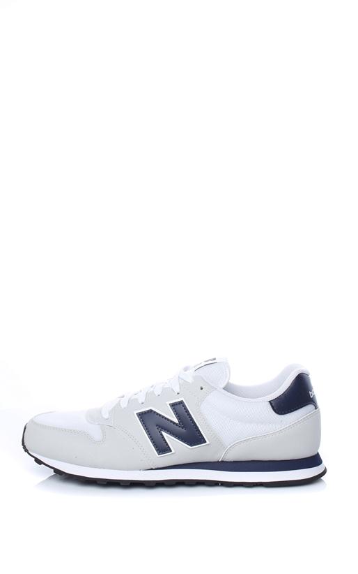 NEW BALANCE-Ανδρικά sneakers New Balance 500 λευκά - μπλε efc394b1fb4