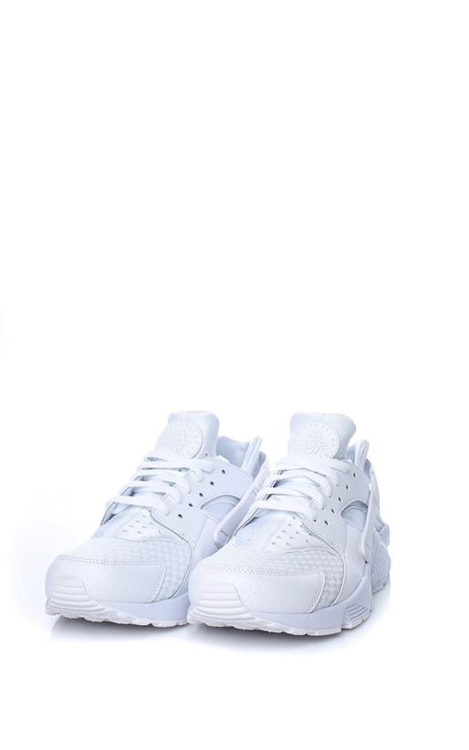 NIKE-Ανδρικά παπούτσια NIKE AIR HUARACHE λευκά