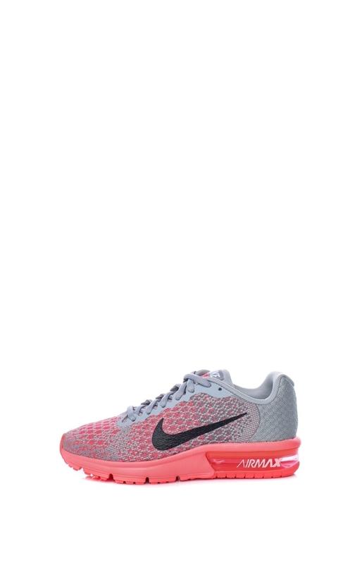 NIKE-Παιδικά αθλητικά παπούτσια NIKE AIR MAX SEQUENT γκρι-κόκκινα 73648c90fec