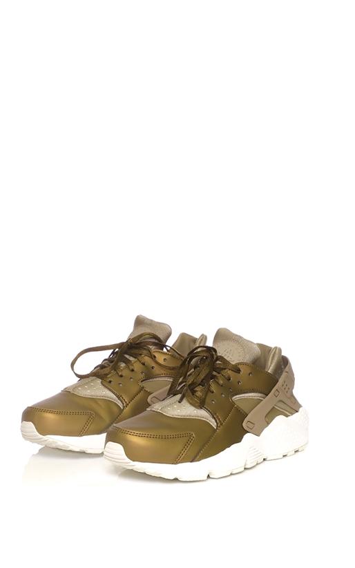 NIKE-Γυναικεία αθλητικά παπούτσια NIKE AIR HUARACHE RUN PRM TXT χρυσά 65763decf2f