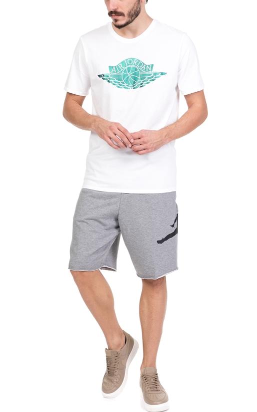 Ανδρική κοντομάνικη μπλούζα NIKE JSW TEE BRAND 3 λευκή (1644310 ... d2c235f11b7