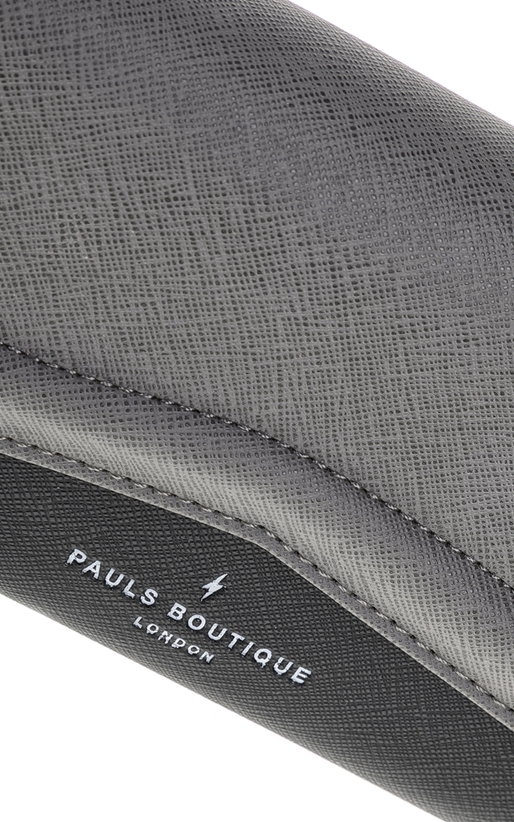 PAUL'S BOUTIQUE-Γυναικείο πορτοφόλι LANE PAUL'S BOUTIQUE γκρι-μαύρο