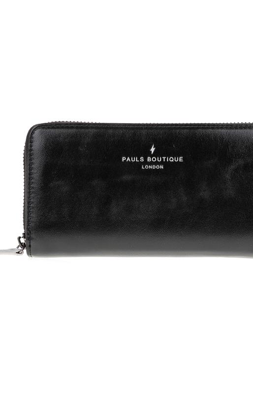 PAUL'S BOUTIQUE-Γυναικείο πορτοφόλι OLIVIA PAUL'S BOUTIQUE μαύρο