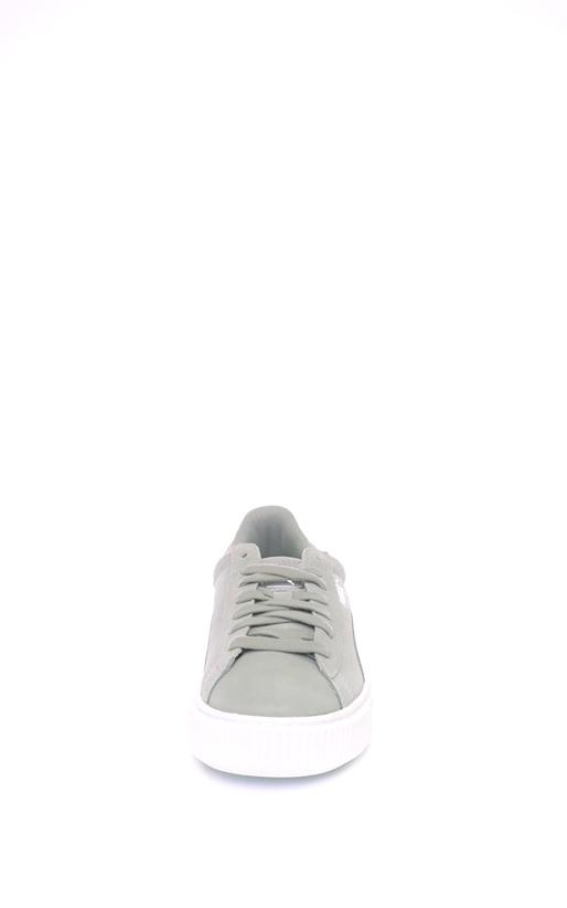 PUMA-Γυναικεία αθλητικά παπούτσια Suede Platform Safar PUMA γκρι