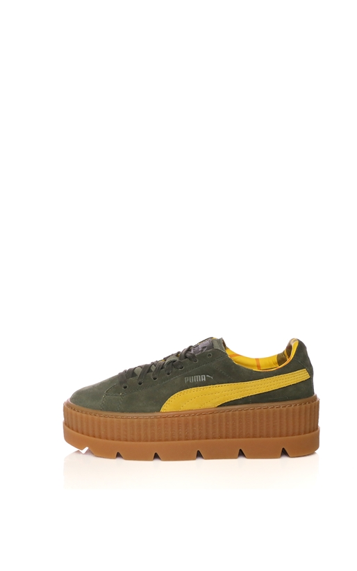 PUMA-Γυναικεία sneakers PUMA Cleated CreeperSuede χακί