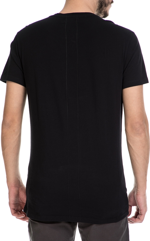 RELIGION-Ανδρικό T-shirt DOUBLE TROUBLE RELIGION μαύρο