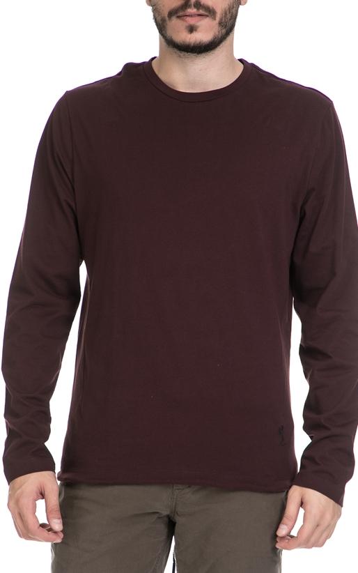Ανδρική μπλούζα FICTION RELIGION μπορντό (1621673)  87c638fbe38