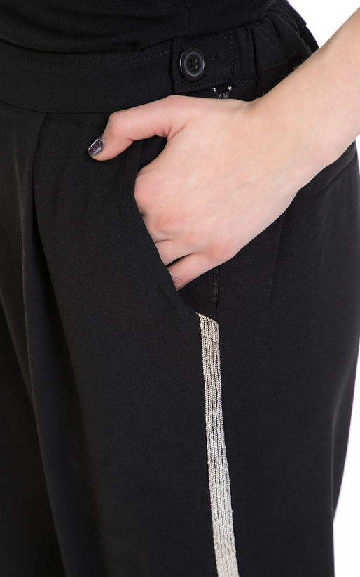 RELIGION-Γυναικείο παντελόνι ROGUE RELIGION μαύρο