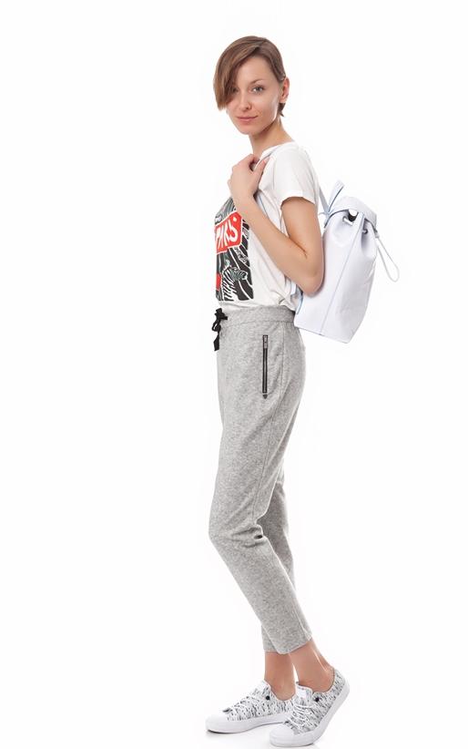 SCOTCH & SODA-Γυναικείο παντελόνι φόρμας MAISON SCOTCH γκρι