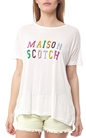 SCOTCH & SODA-Γυναικείο T-shirt MAISON SCOTCH λευκό