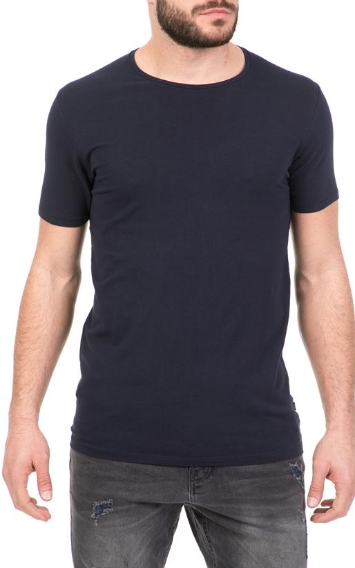SCOTCH & SODA-Ανδρικό T-shirt NOS SCOTCH & SODA μπλε