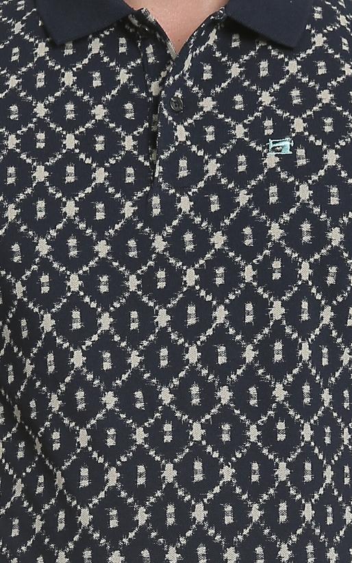SCOTCH & SODA-Ανδρική κοντομάνικη μπλούζα polo Scotch & Soda μπλε