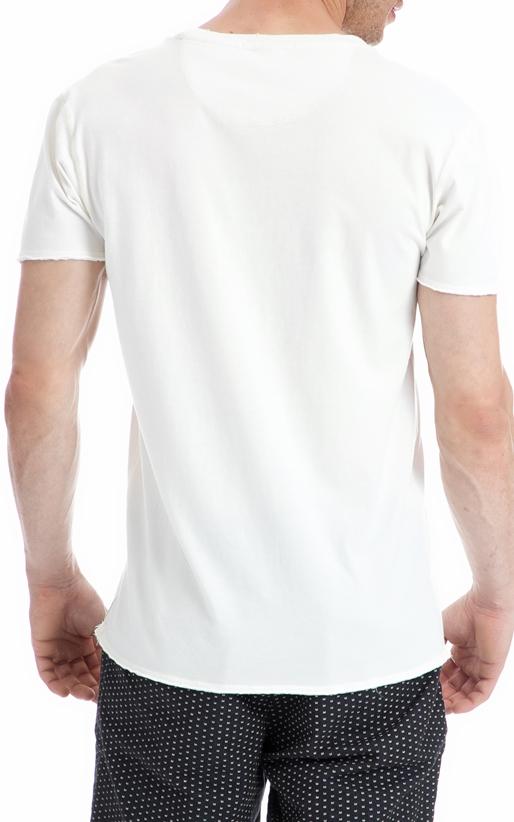 SCOTCH & SODA-Ανδρική μπλούζα SCOTCH & SODA λευκή