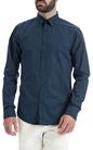SCOTCH & SODA-Ανδρικό πουκάμισο SCOTCH & SODA μπλε