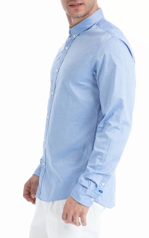SCOTCH & SODA-Ανδρικό πουκάμισο SCOTCH & SODA γαλάζιο
