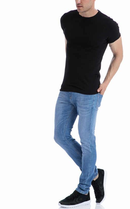 SCOTCH & SODA-Ανδρική μπλούζα SCOTCH & SODA μαύρη