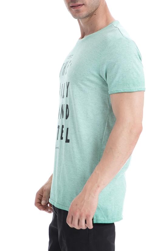 SCOTCH & SODA-Ανδρική μπλούζα SCOTCH & SODA γαλάζια