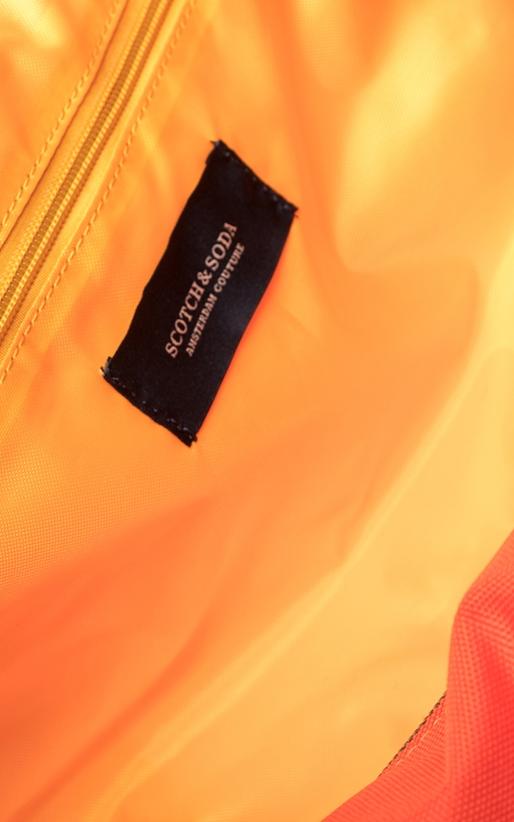 SCOTCH & SODA-Ανδρική τσάντα Scotch & Soda πορτοκαλί
