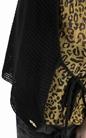 SCOTCH & SODA-Γυναικεία αμάνικη διπλή μπλούζα Scotch & Soda λεοπάρ