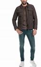 SCOTCH & SODA-Ανδρικό τζιν παντελόνι Skim - Yarn Dyed Colours πράσινο