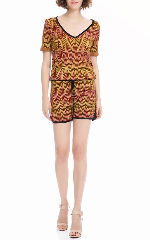 SCOTCH & SODA-Ολόσωμη φόρμα Maison Scotch κίτρινη-κοραλί