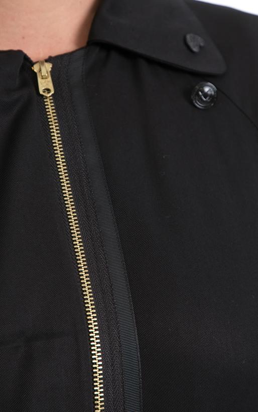 SCOTCH & SODA-Γυναικεία καμπαρτίνα MAISON SCOTCH μαύρη