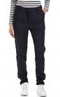 SCOTCH & SODA-Γυναικείο παντελόνι chino in subtle stripe pattern μπλε
