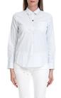 SCOTCH & SODA-Γυναικείο πουκάμισο MAISON SCOTCH λευκό-μπλε