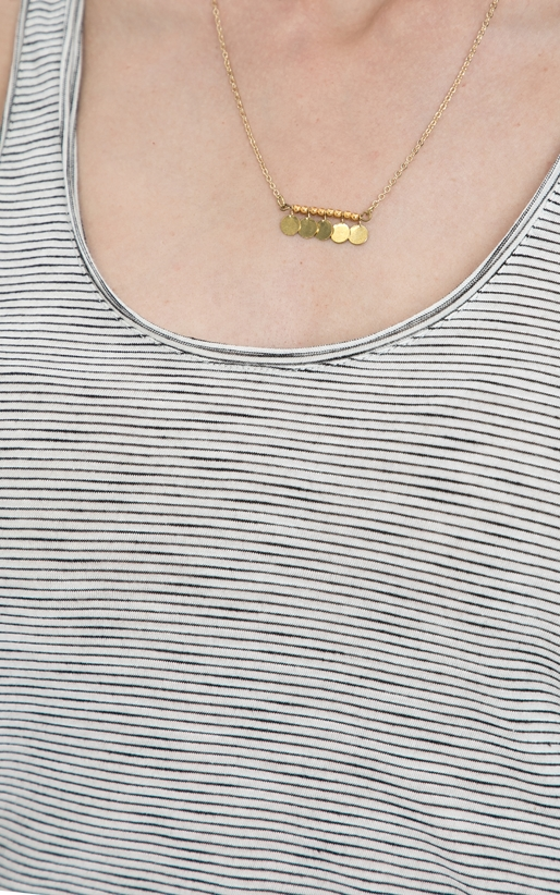 SCOTCH & SODA-Γυναικεία αμάνικη μπλούζα MAISON SCOTCH λευκή-μαύρη