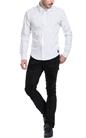 SCOTCH & SODA-Ανδρικό πουκάμισο SCOTCH & SODA λευκό-μπλε