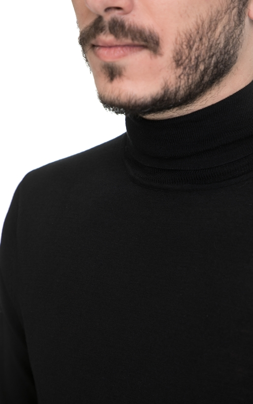 SCOTCH & SODA-Ανδρικό πουλόβερ SCOTCH & SODA μαύρο