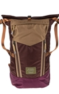 SCOTCH & SODA-Ανδρικό backpack SCOTCH & SODA καφέ-μοβ