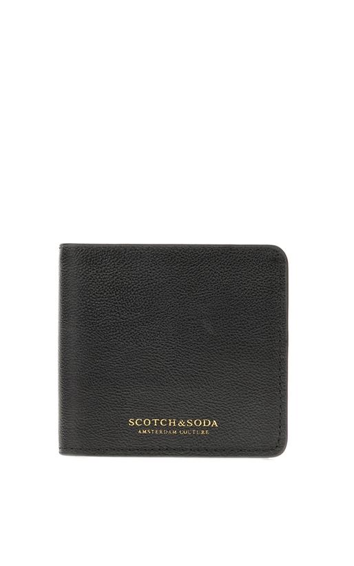 SCOTCH & SODA-Ανδρικό πορτοφόλι SCOTCH & SODA μαύρο