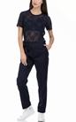 SCOTCH & SODA-Γυναικείο παντελόνι SCOTCH & SODA μπλε