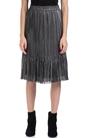 SCOTCH & SODA-Γυναικεία φούστα MAISON SCOTCH ασημί