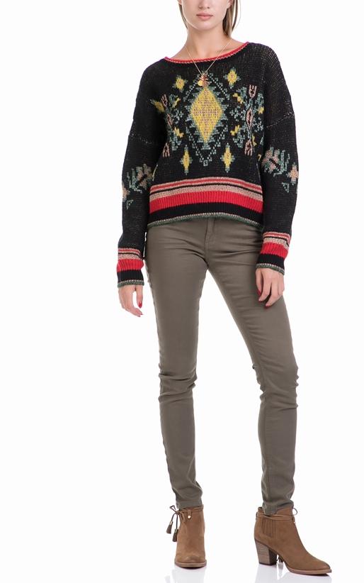 SCOTCH & SODA-Γυναικείο πουλόβερ MAISON SCOTCH εμπριμέ