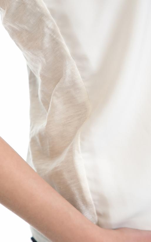 SCOTCH & SODA-Γυναικείο τοπ MAISON SCOTCH λευκό