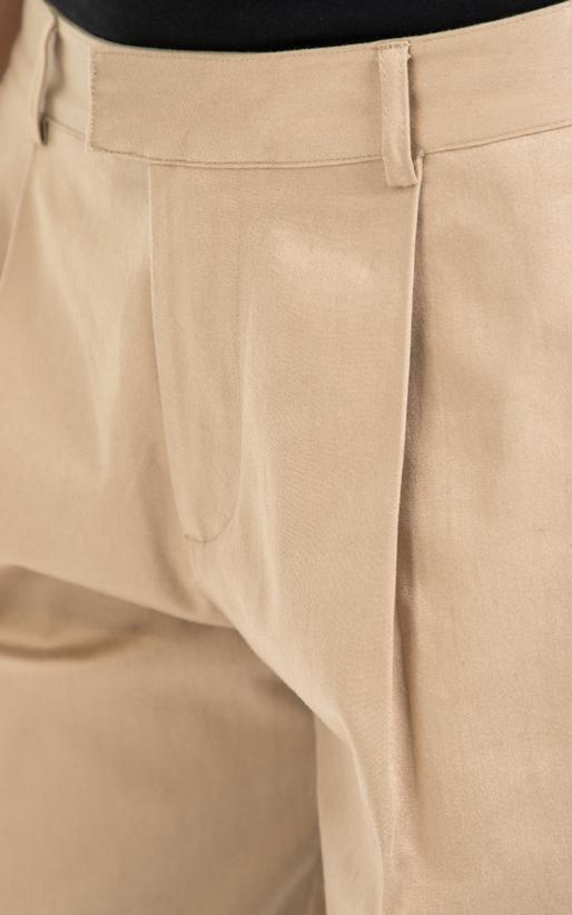 SCOTCH & SODA-Γυναικείο παντελόνι 'Scotch have' carrot fit chino μπεζ