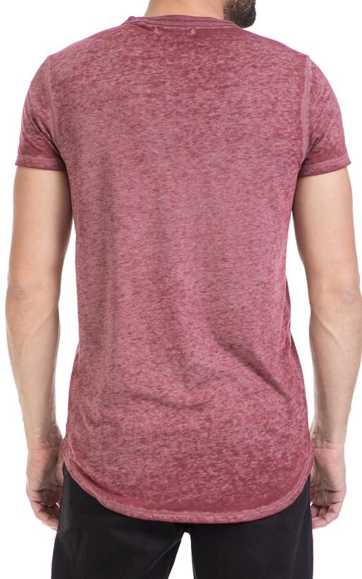 SCOTCH & SODA-Αντρική μπλούζα SCOTCH & SODA κόκκινη