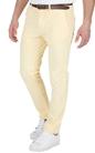 SCOTCH & SODA-Ανδρικό παντελόνι SCOTCH & SODA κίτρινο