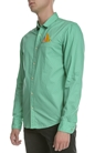 SCOTCH & SODA-Ανδρικό μακρυμάνικο πουκάμισο Scotch & Soda πράσινο πουά