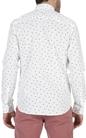 SCOTCH & SODA-Ανδρικό βαμβακερό πουκάμισο Scotch & Soda λευκό
