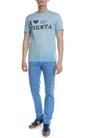 SCOTCH & SODA-Ανδρικό T-shirt Sun-bleached SCOTCH & SODA μπλε