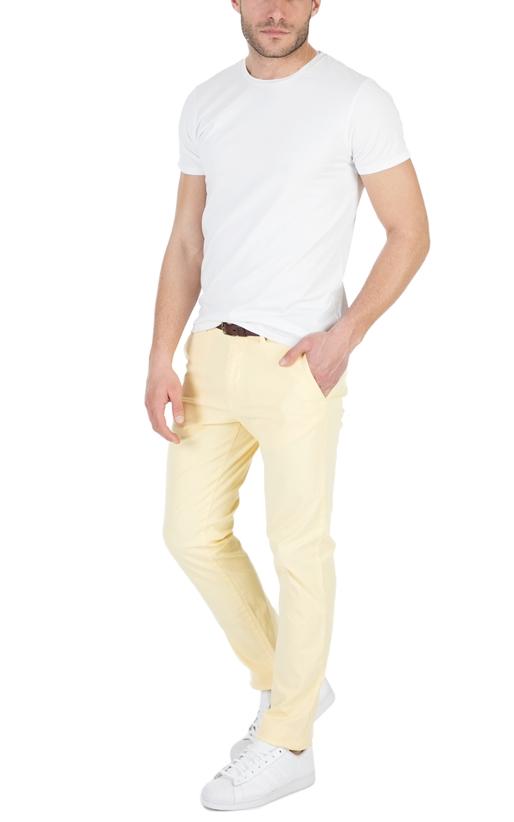SCOTCH & SODA-Ανδρικό T-shirt SCOTCH & SODA λευκό