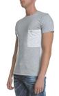 SCOTCH & SODA-Ανδρικό T-shirt Mix & match SCOTCH & SODA γκρι