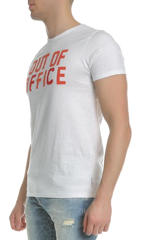 SCOTCH & SODA-Ανδρικό T-shirt Summer tee SCOTCH & SODA λευκό
