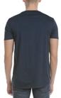 SCOTCH & SODA-Ανδρικό T-shirt Chic artwork tee SCOTCH & SODA μπλε
